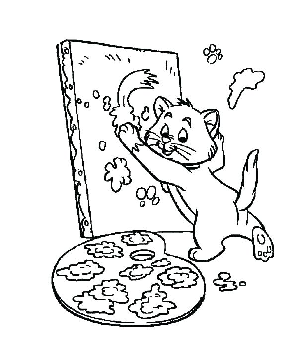 600x686 Paint Coloring Pages Painting Coloring Pages Painting And Coloring