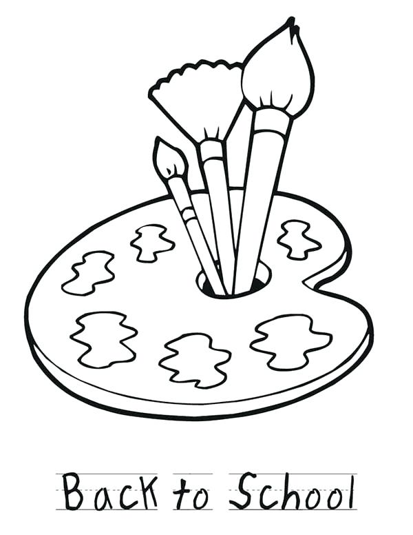 600x776 Paint Coloring Pages Coloring Collection