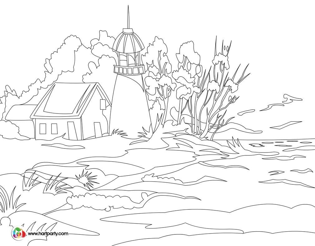 1010x787 Traceable And Coloring Page For Light Keepers Full Youtube