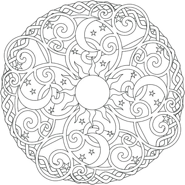 600x600 Flower Pattern Coloring Pages Floral Pattern Pattern Of Flower