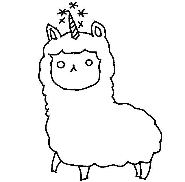 640x630 Llama Llama Coloring Pages Alpaca Coloring Pages Adult Llama Red