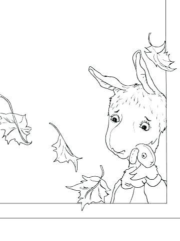 360x480 Llama Coloring Pages