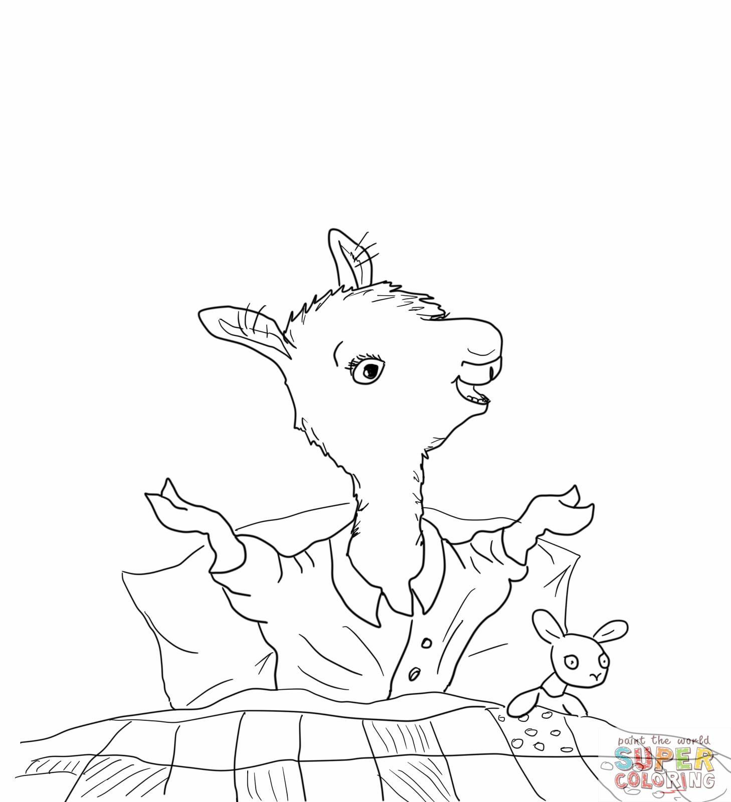 1458x1600 Llama Llama Home With Mama Coloring Page Story