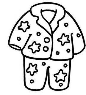 289x320 Pijama Colouring Pages Creative Kids Creative Kids