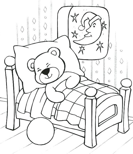 Pajama Day Coloring Sheets - 600x470 PNG Download - PNGkit   650x563