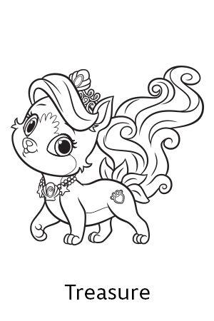 300x450 Inspirational Princess Palace Pets Coloring Pages