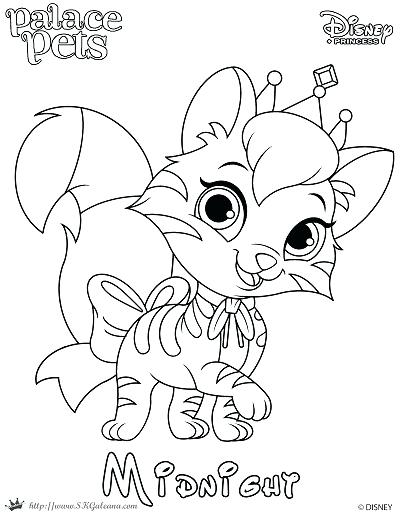 400x517 Palace Pets Coloring Pages As Well As Free Printable Princess