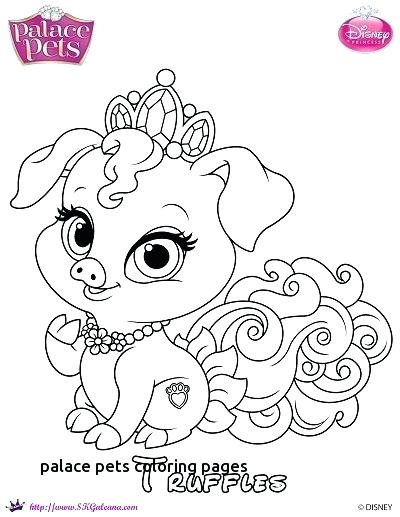 Palace Pets Coloring Pages At Getdrawings Com Free For Personal