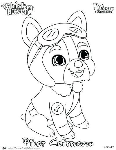 400x517 Princess Palace Pets Coloring Pages