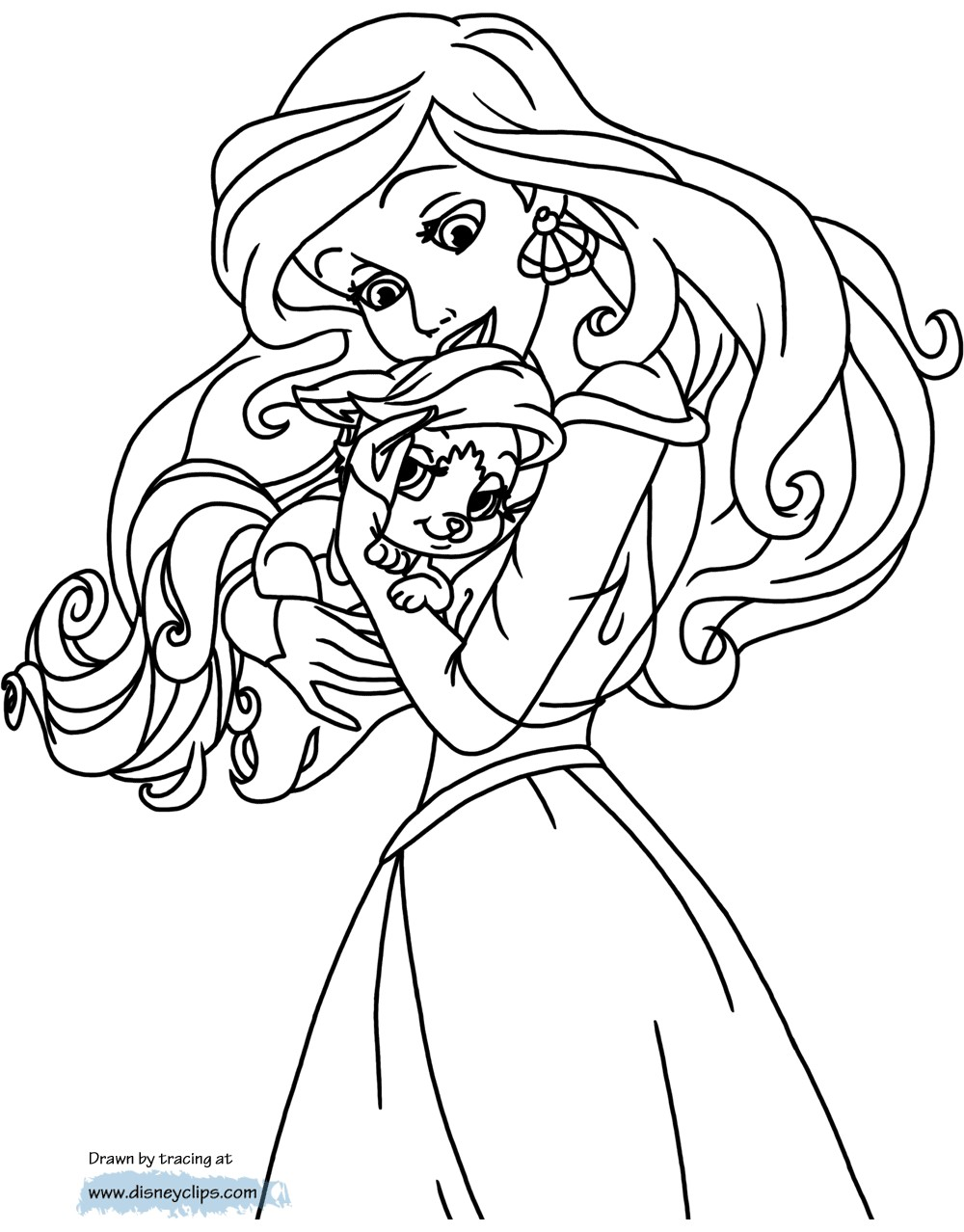 1000x1278 Cinderella Dog Coloring Pages Fresh Free Palace Pets Coloring