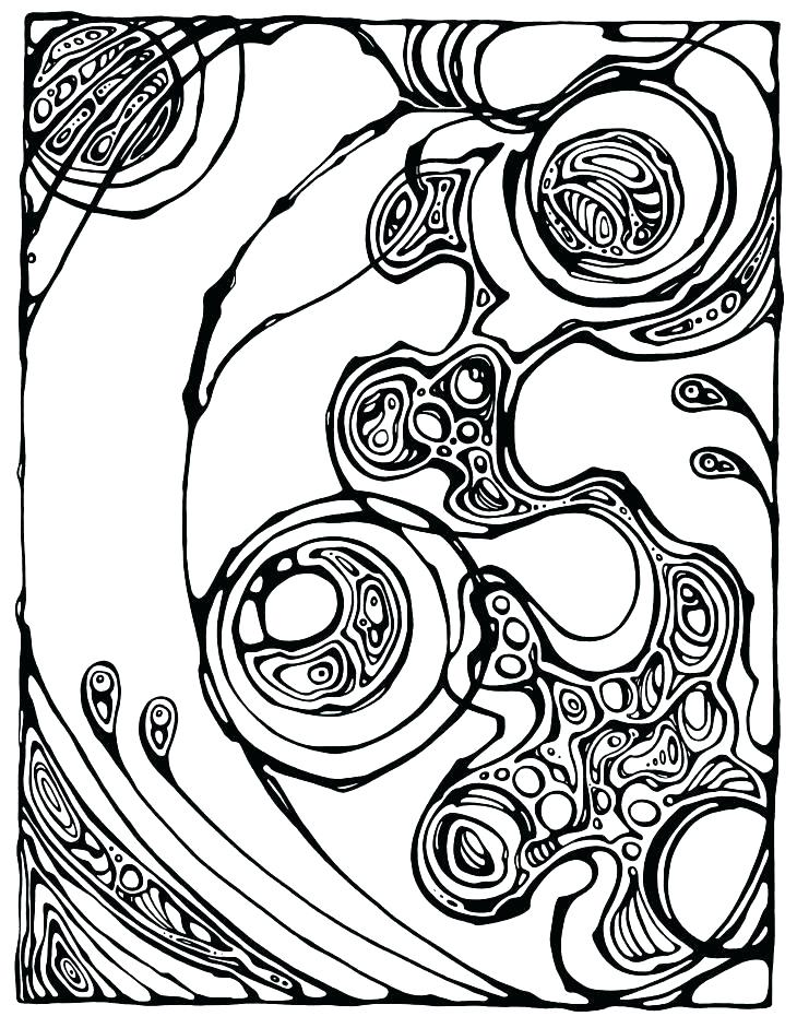 Palette Coloring Page