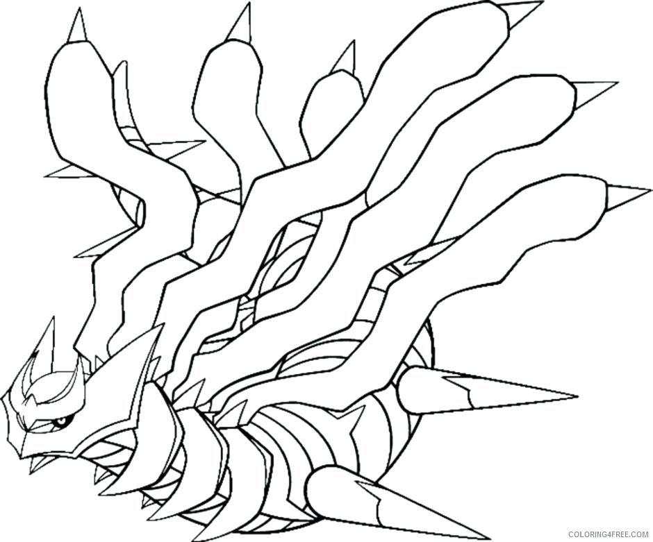 940x781 Pokemon Coloring Pages Dialga Coloring Pages Advanced Coloring