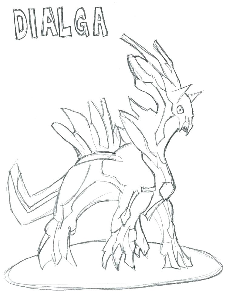 768x1000 Pokemon Coloring Pages Dialga Coloring Pages Enjoy And Coloring