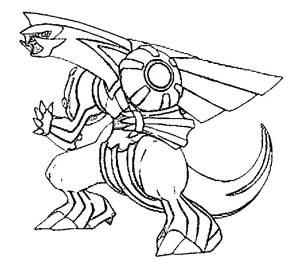 Palkia Coloring Pages At Getdrawings Free Download