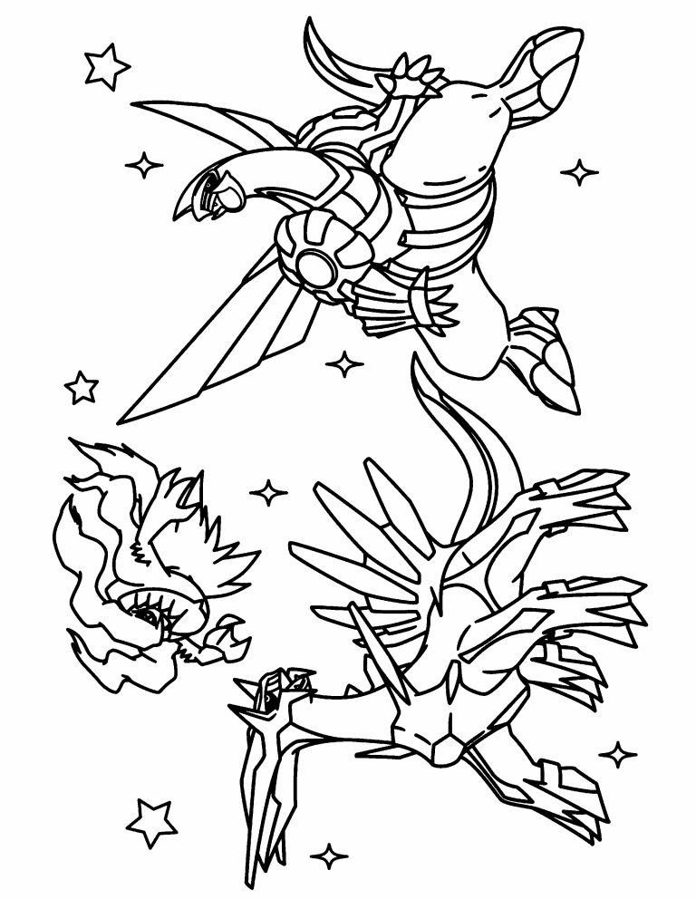 768x992 Pokemon Coloring Pages Palkia Copy Best Of Dialga