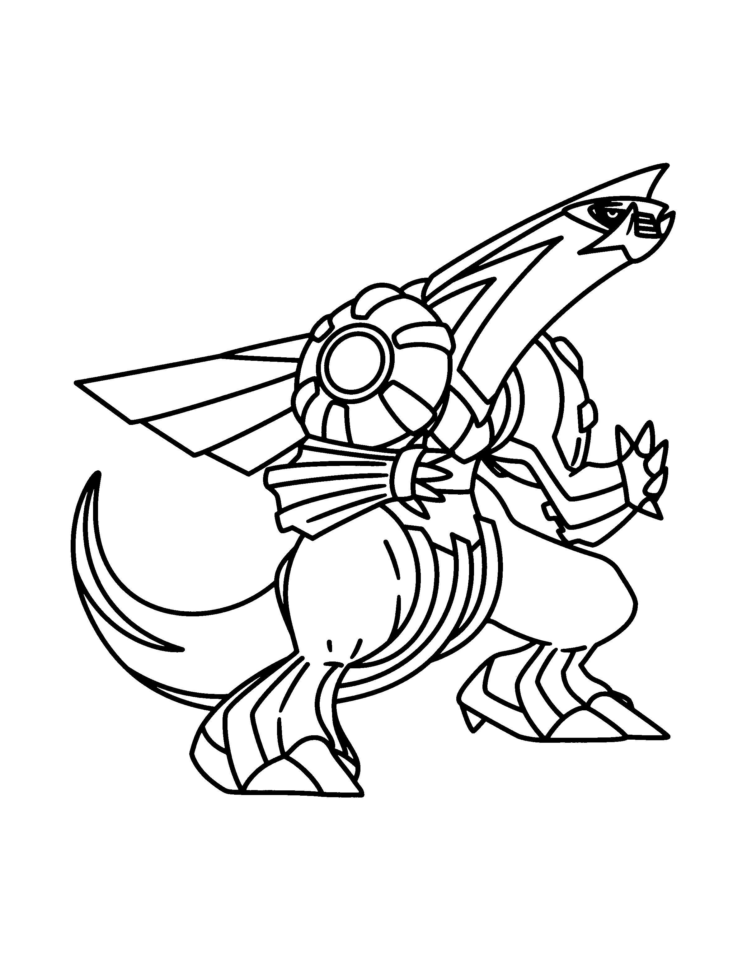 2400x3100 Pokemon Coloring Pages Palkia New Darkrai