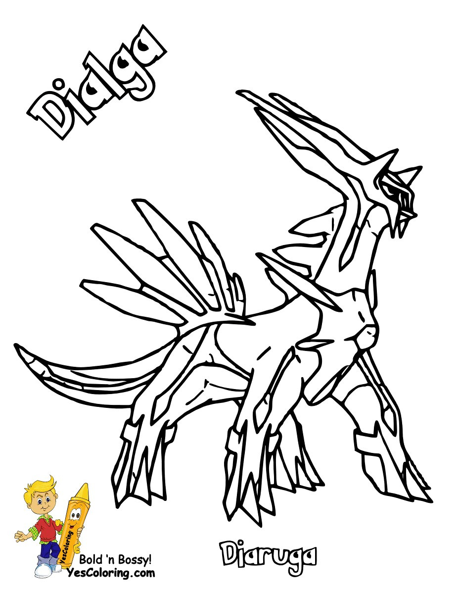 928x1200 Pokemon Coloring Pages Palkia New Legendary
