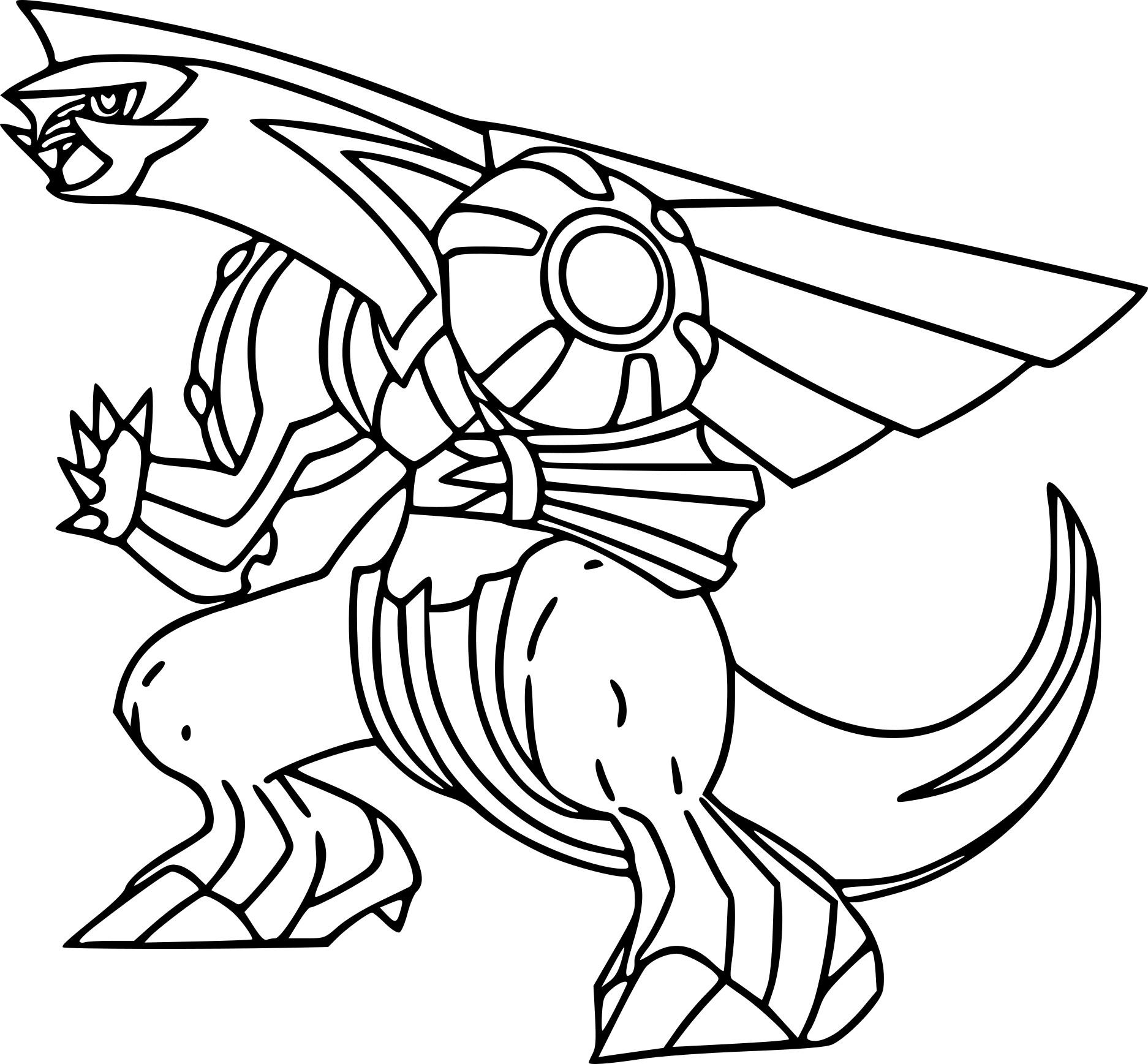 1874x1737 Pokemon Coloring Pages Palkia Page