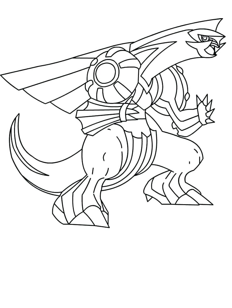 741x982 Palkia Coloring Pages Dialga Coloring Pages Yuga Ideas