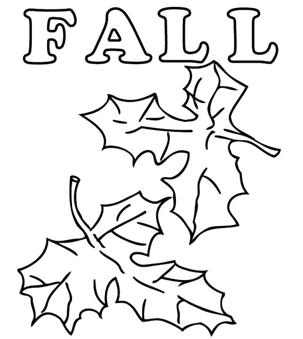 618x690 Leaves Coloring Pages Autumn Leaf Coloring Pages Printable Fall