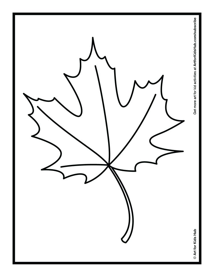 750x971 Palm Leaf Coloring Page Coloring An Autumn Leaf With Oil Pastels