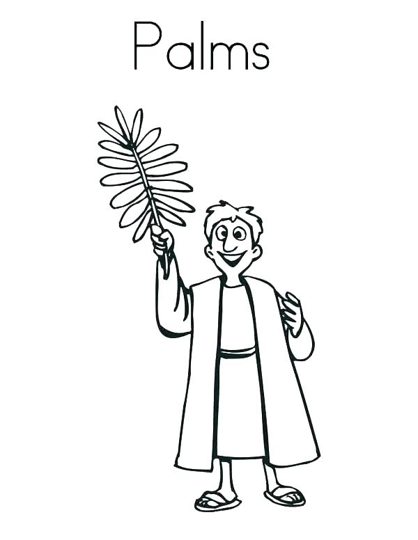 600x776 Palm Leaf Coloring Page Palm Tree Leaf Coloring Page