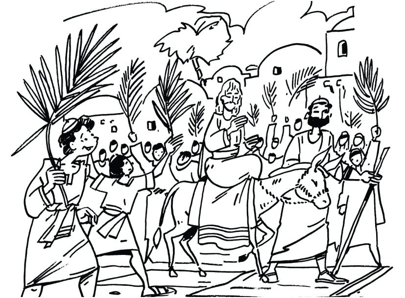 827x609 Palm Sunday Coloring Page Palm Coloring Pages Photo Obsession Palm