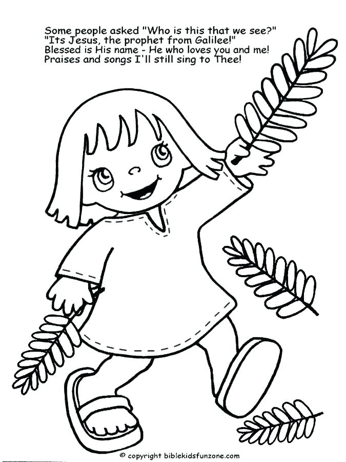 675x900 Palm Sunday Coloring Pages Click The Palm Poster Coloring Pages