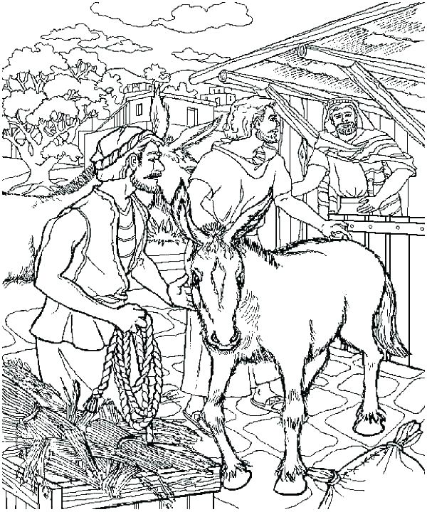 600x720 Palm Sunday Coloring Pages Palm Coloring Pages Palm Sunday