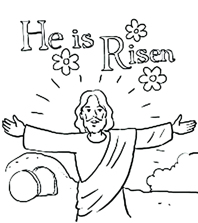 768x866 Palm Sunday Coloring Pages Religious Free Printable Page