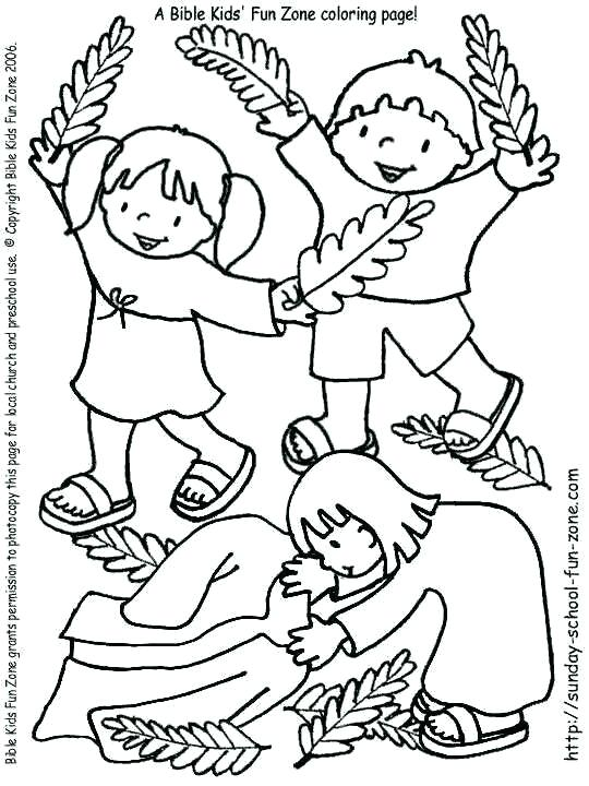 540x720 Palm Sunday Coloring Pictures Fine Bible Coloring Pages Palm