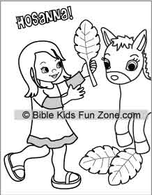 218x280 Palm Sunday Lessons, Crafts, Activities For Children