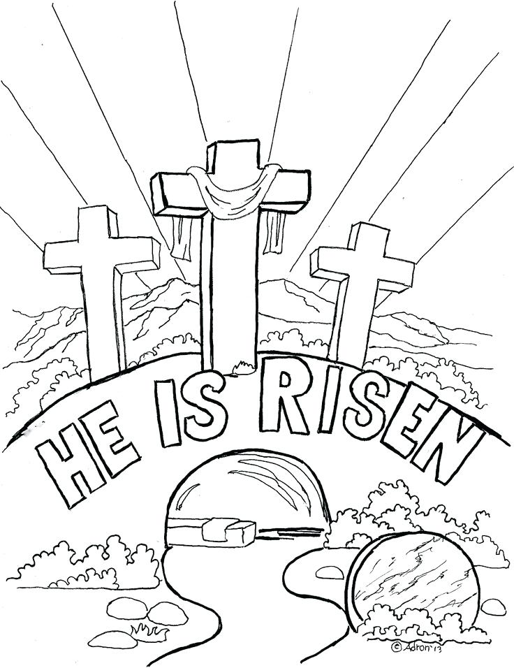 736x956 Palm Sunday Coloring Pages