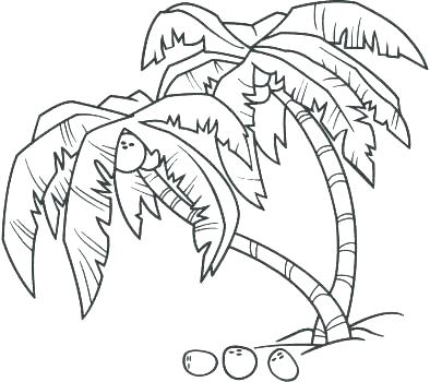 394x350 Bare Tree Coloring Page Bare Tree Coloring Page Tree Coloring