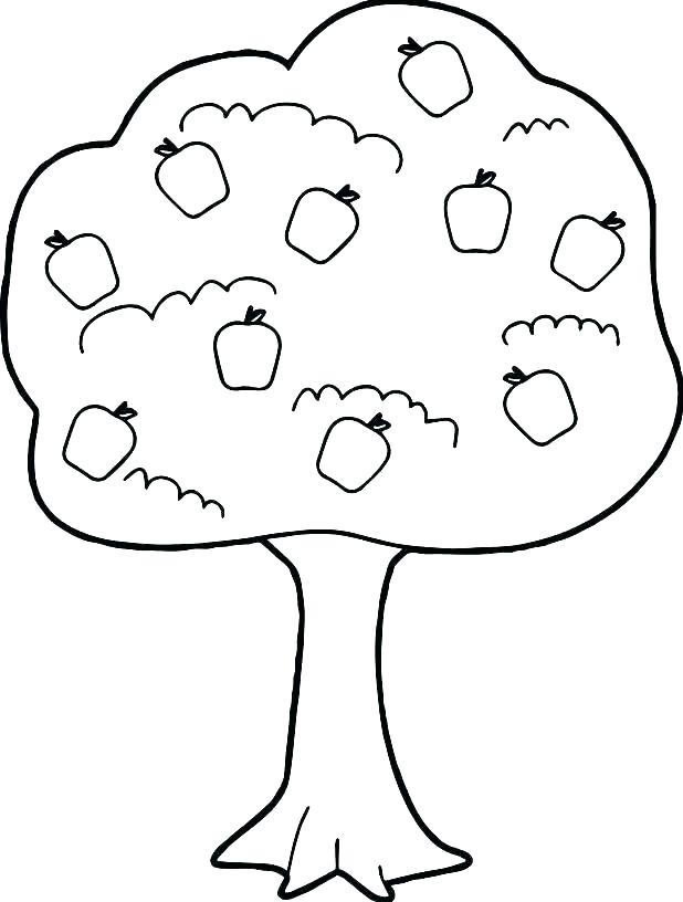 618x816 Leaves Coloring Pages