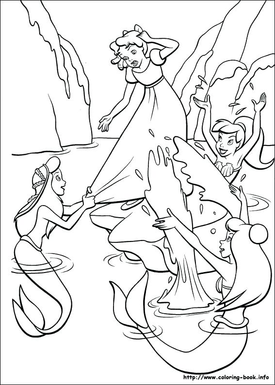 567x794 Peter Pan Coloring Book Index Peter Pan Coloring Pages Free