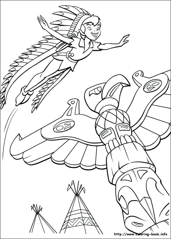 567x794 Peter Pan Coloring Pages Captain Hook Coloring Pages Peter Pan