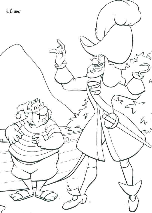 607x850 Peter Pan Coloring Pages Coloring Coloring For Kids Good Peter Pan