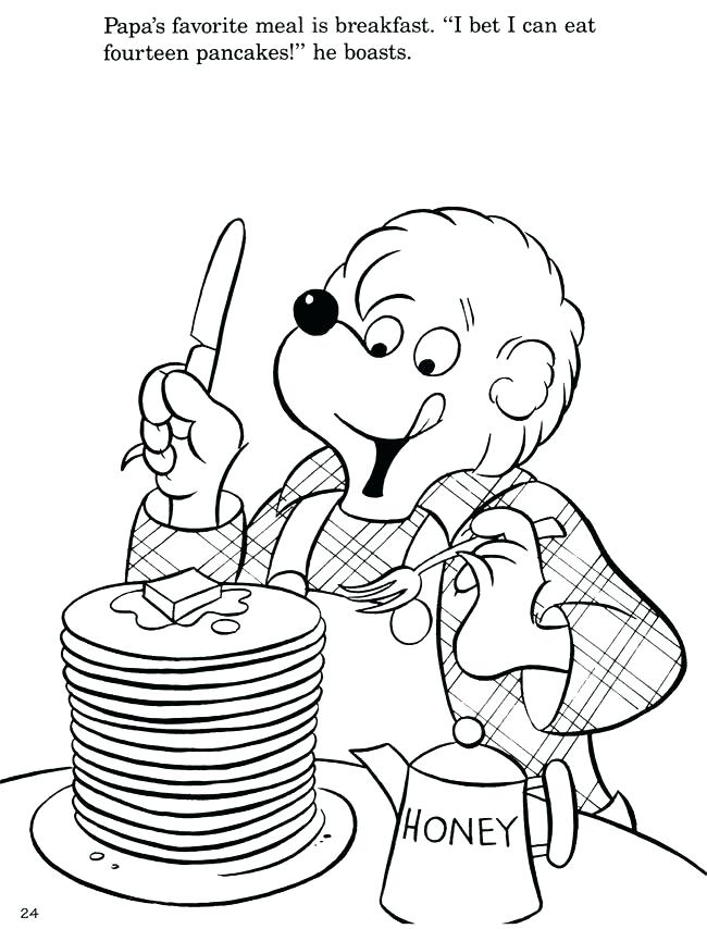650x854 Pancake Coloring Pages Awesome Pancake Coloring Pages Printable