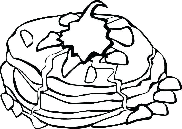 736x523 Breakfast Coloring Page Breakfast Coloring Pages Food Coloring