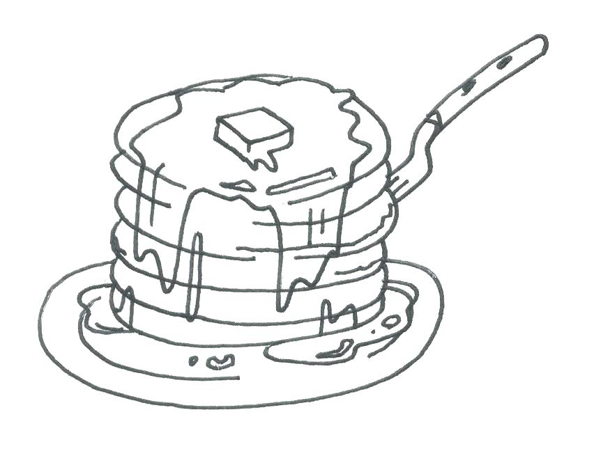 852x645 Breakfast Coloring Pages Perfect Pancake Coloring Pages Kids Day