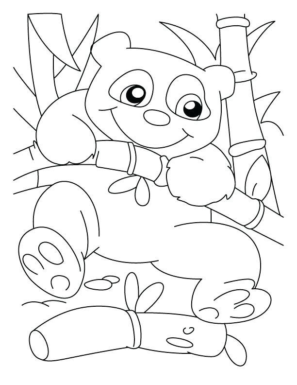 612x792 Free Panda Bear Coloring Pages Good Climber Panda Coloring Pages