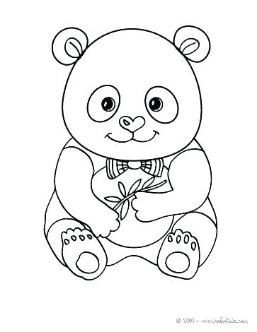 363x470 Cute Panda Coloring Pages Coloring Pages Baby Pandas Printable