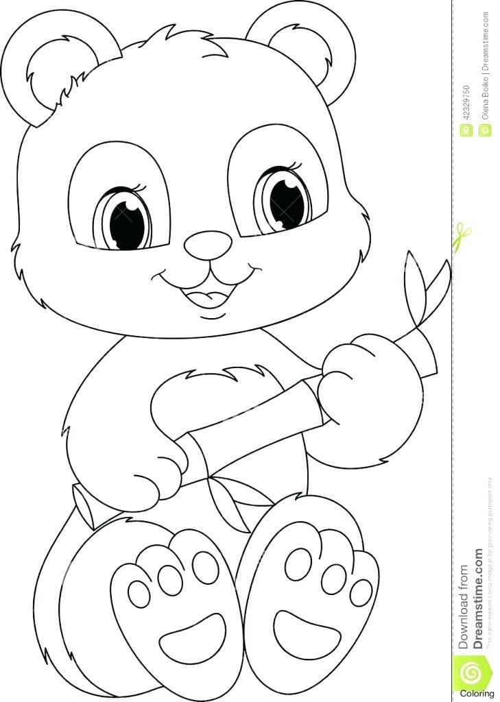729x1024 Panda Bear Coloring Page Panda Bear Coloring Pages Printable Panda
