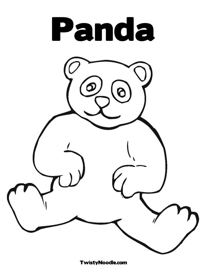 685x886 Panda Bear Coloring Pages To Download And Print For Free