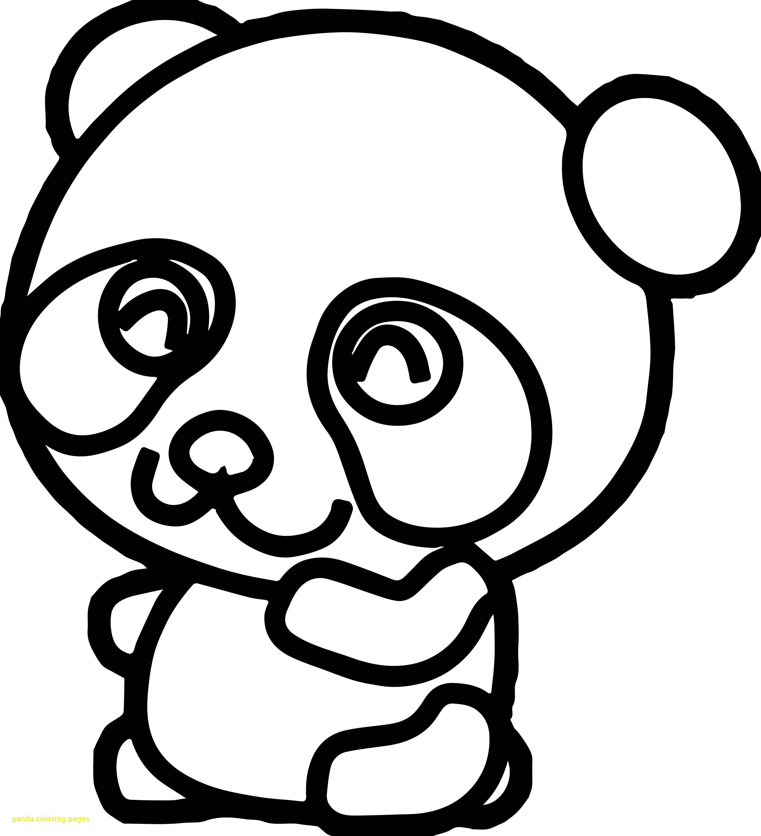 Panda Coloring Pages At Getdrawings Free Download