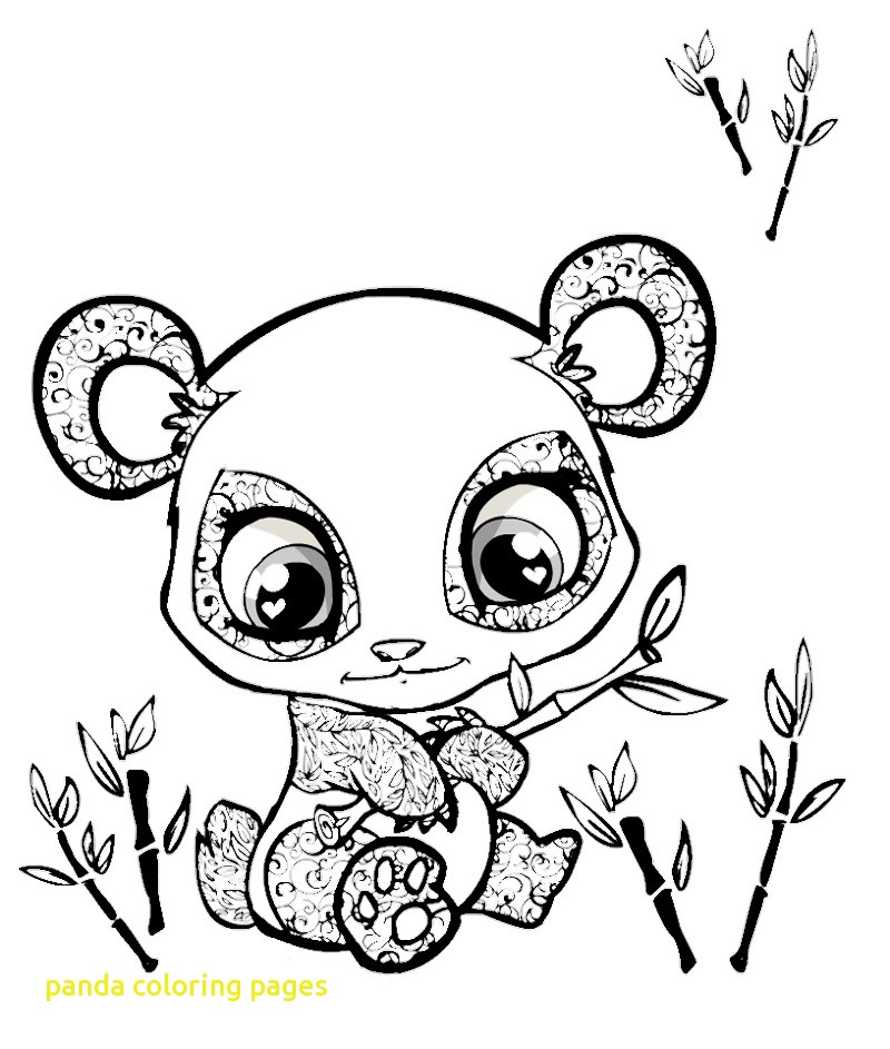 800x943 Panda Coloring Pages With Cool Panda Coloring Page For Free