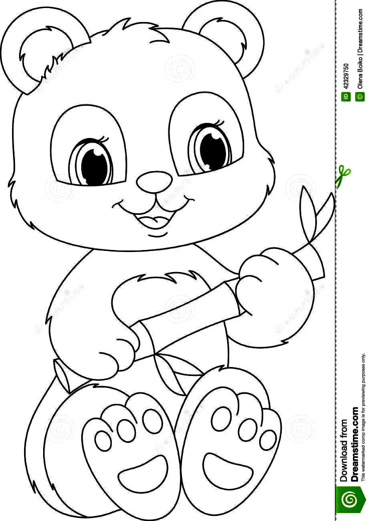 740x1038 Panda Coloring Pages Coloring Pages Kids
