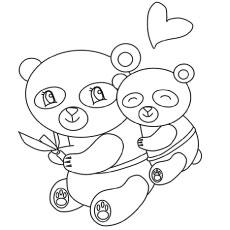 230x230 Top Free Printable Cute Panda Bear Coloring Pages Online