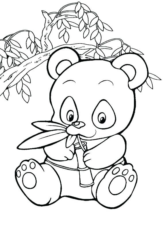 567x794 Panda Bear Coloring Page Cute Panda Coloring Pages Cute Panda